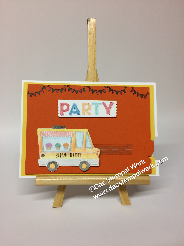 Leckerlaster, Stampin´Up!, Geburtstag, Party