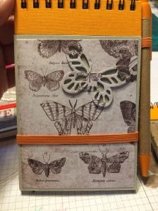 Floating Letters, Designerpapier, Notizblock