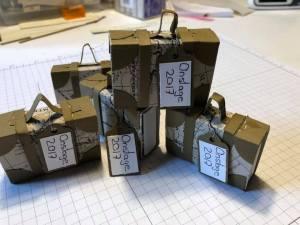 Reisekoffer, Stampin Up, Designer Papier, Tic Tac, Swap, Koffer