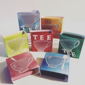 Teebuch, Stampin Up, Tee, Weihnachtsgeschenk, Weihnachtsetikett,