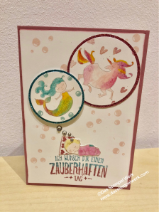 Zauberhafter Tag, Stampin Up, zarte Pflaume, Moon Baby,