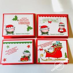 Weihnachtswerkstatt, Memories and more, Wichtel, Stampin Up, Weihnachtskarten